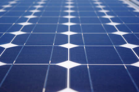 Green energy generating photovoltaic solar panel. Stock Photo - 11027897