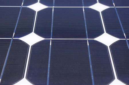 Clean energy generating solar panel close-up. Stock Photo - 11027898