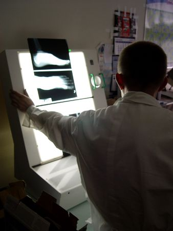 hmo: Operazione in ospedale  Archivio Fotografico