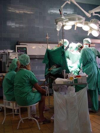 operation in hospital Stock Photo - 706781