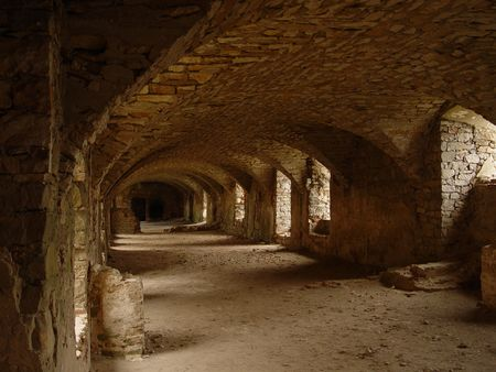 bollwerk: Burg-Tunnel