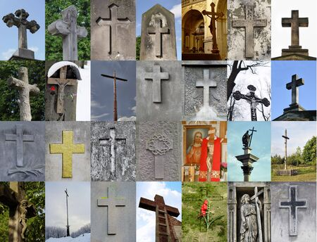 cross collage Stock Photo - 1268903