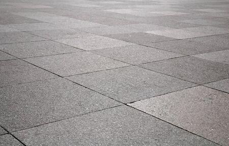 Old stone pavement closeup Stock Photo