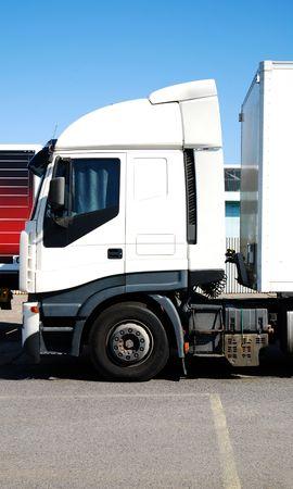Semi Truck Cab Detail Stock Photo - 5520375