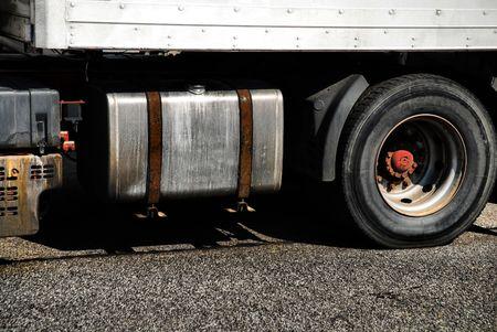 sidelight: Semi Truck Cab Detail