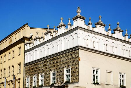 old home in Krakow, Poland