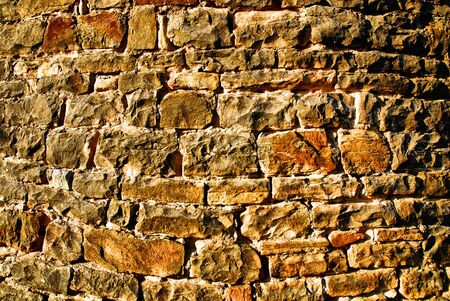 Background of stone wall made with blocks Stock Photo - 6543012