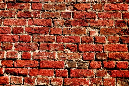 abstract close - up brick wall background Stock Photo - 6543035