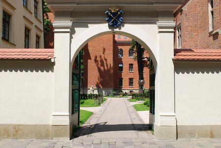 Medieval Jagiellonian University, Collegium Maius, Cracow, Poland