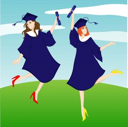 graduation girl celebration