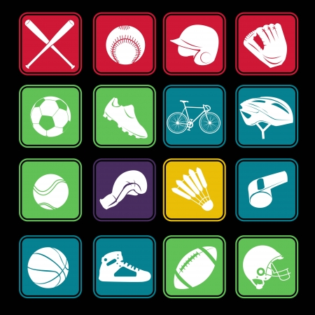 Sport Icon Basic Style Stock Vector - 18002026