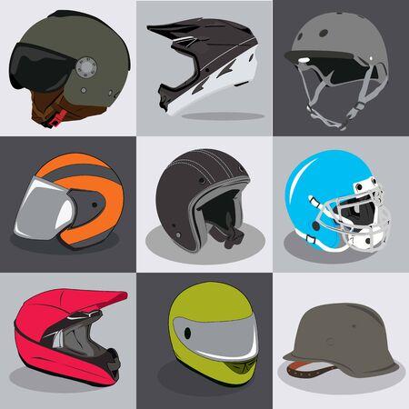 Stock Helmet Collection