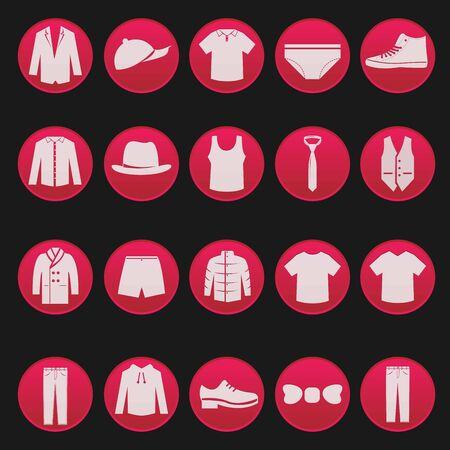 fashion item: men clothing fashion item set series 2