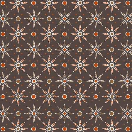 Traditional Javanese Pattern 4 Vector