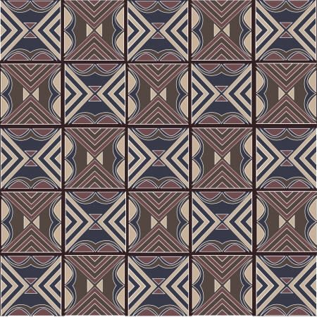 Traditional Javanese Pattern 3 Vector