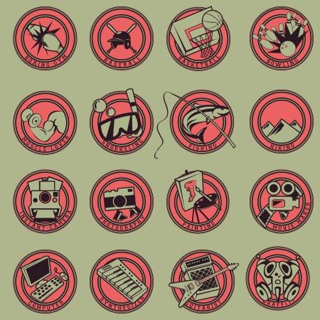 15 Logo Cartoon Hobbies