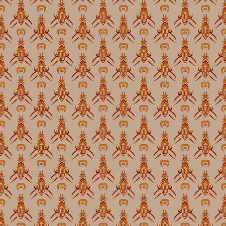 javanese: Traditional Javanese Pattern 17 Illustration
