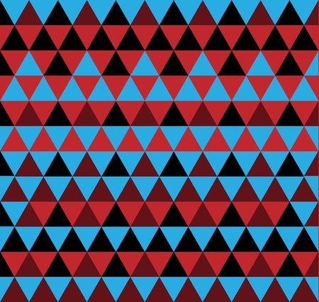 simple triangle pattern Stock Vector - 18943049