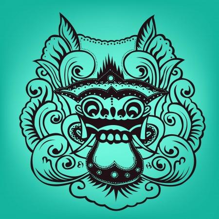 balinese: Balinese artwork barong