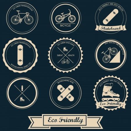 Urban Transportation Label Design