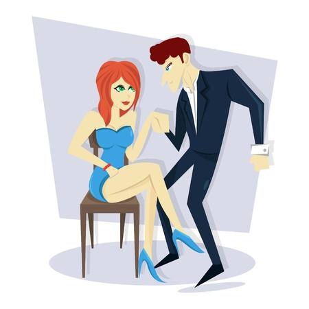 sexy hot couple: Dancing Party