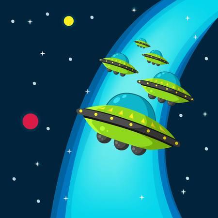 Space War Vector