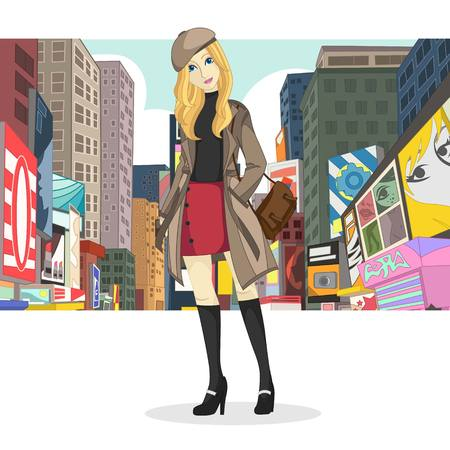 Big City Girl Fashion Style