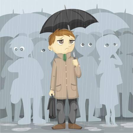 gloomy: Gloomy Rainy Day