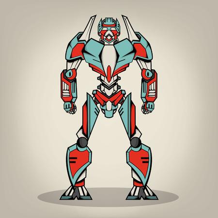 Súper Robot War Foto de archivo - 27332889