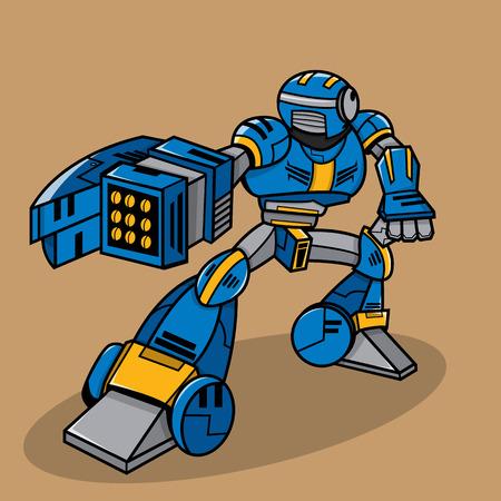 mecha: Cartoon Robot