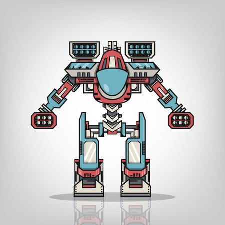 Súper Robot War Foto de archivo - 27827279