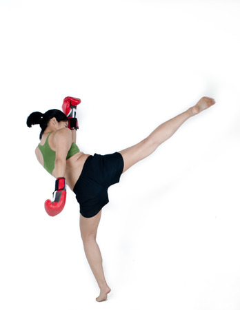 Asian Female Fighter  photo