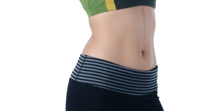 Sexy woman diet body shape Stock Photo