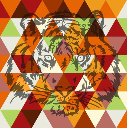 locandina arte: Fronte della tigre poster art