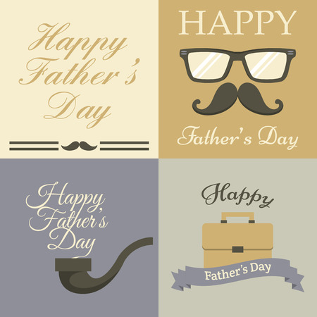 fathers day background: Fathers Day card collection
