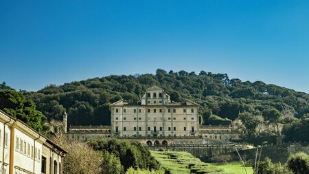 February 17, 2019 - Frascati, Rome, Lazio, Italy, Castelli Romani - The spectacular Villa Aldobrandini, also known as Belvedere, it is the only grand Papal garden not owned by the state. Built in 1600 Archivio Fotografico