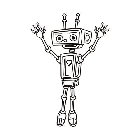 robot Stock Vector - 26535509