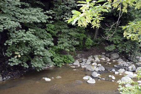 rockfall: nature Stock Photo