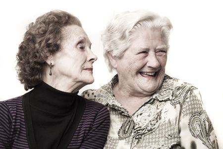 Funny old ladies Stock Photo - 8100020