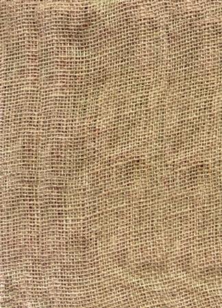 Fett HQ Sackleinen Textur  Standard-Bild - 1986374