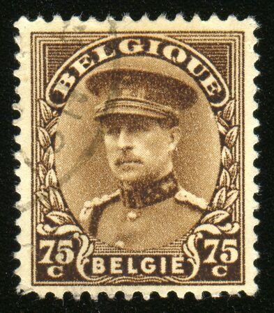 sello postal: Vintage antiguo sello de correos  Foto de archivo