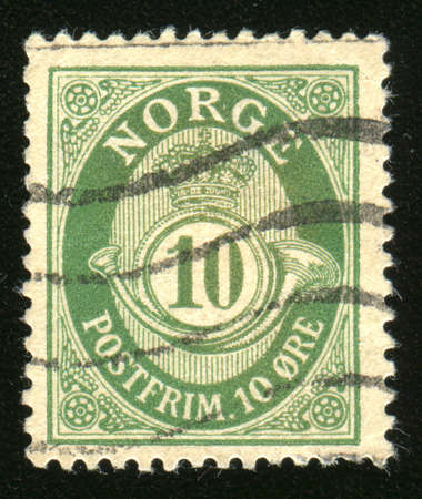 postage stamp: Vintage antique postage stamp