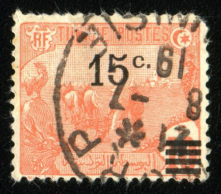 postage stamp: Vintage antique postage stamp