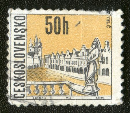 Vintage antique postage stamp Stock Photo - 2876658