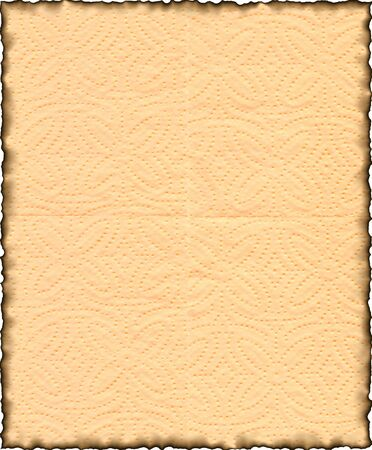 Vintage isolated old retro ripped paper Background Stock Photo