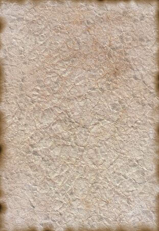 ripped paper background: Vintage isolated old retro ripped paper Background Stock Photo