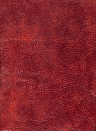 Brown leather texture to backround Stock Photo