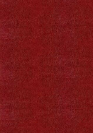 Red leather texture to backround photo