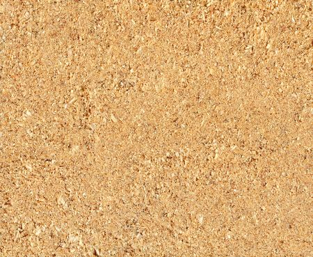 Close-up natural sawdust texture to background photo