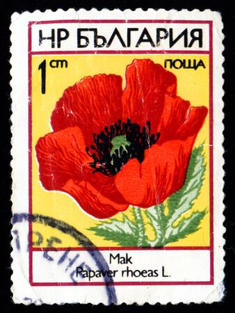 Vintage antique postage stamp from Bulgaria Stock Photo - 3764766
